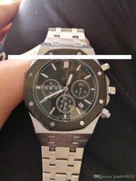 $enCountryForm.capitalKeyWord Australia - High quality upgraded classic royal oak watch men&#039s luxury stainless steel designer watch six stopwatch big bang watch quartz clock