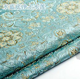 $enCountryForm.capitalKeyWord Australia - Brocade Fabric Damask Jacquard America style Apparel Costume Upholstery Furnishing Curtain DIY Clothing Material fabric 75*50cm