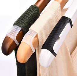 $enCountryForm.capitalKeyWord Australia - Silicone Rubber Anti-skid Strip for Clothes Hangers Wooden Hanger Non Slip Sleeve Plastic Hangers Anti-slip Accessory