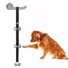 $enCountryForm.capitalKeyWord Australia - 2019 New Arrival Pet Doorbell High Quality Material Dog Training Products Home Use Door Bell