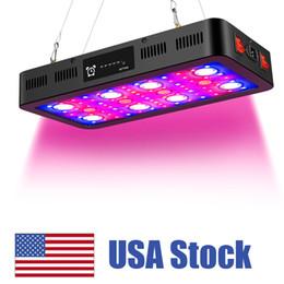 2400W Timming LED Işıkları Büyümek, Tam Spektrum LED Veg ve Bloom ile Işık Büyümek Termometre Nem Monitörü ve Daisy Zinciri ile