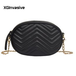 Discount ladies leather travel wallet - Brand Women's Belt Bags Solid Pu Leather Waist Packs Ladies Chain Fanny Pack Female Travel Phone Wallet Belt Waist