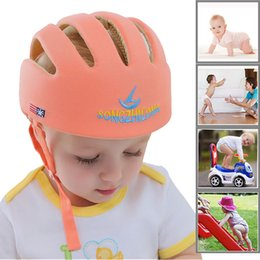 learning for infants NZ - Baby Hat Helmet Safety Protective Kids Learn To Walk Anti Collision Panama Children Infant Protection Cap For Boys Girls