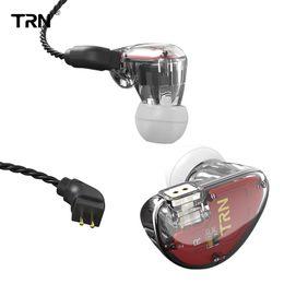 Pin drives online shopping - 2019 New TRN V30 BA DD Drive Earphone HIFI Running Sport Earplug Transparent Headset Pin Detachable For Phone Player car