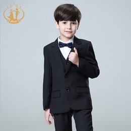 kids casual blazers NZ - Nimble Suit for Boy Costume Enfant Garcon Mariage Kids Suits Boys Costume Garcon Mariage Disfraz Infantil Boys Blazer