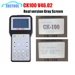 Toyota Auto Key Programmer NZ - CK100 Auto Key Programmer Real V46.02 Gray Screen The Latest SBB Update Version With 1024Tokens CK 100 V46.02 For Toyota G