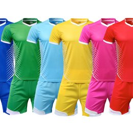 Toptan satış URBEX Özel Futbol Gömlek Boş Düz Formalar Kişiselleştirin Futbol Seti DIY Kendi Takım Kiti Özelleştirmek set üniforma