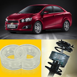 2pcs Power Front  Rear Shock Suspension Cushion Buffer Spring Bumper For Chevrolet Aveo on Sale