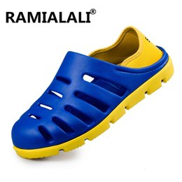 $enCountryForm.capitalKeyWord Australia - Ramialali Men Sandals Summer Men Beach Slippers Mules Garden Clogs Shoes Male Casual Slippers Outdoor Fashion Sandals #99076