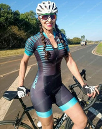 xxl rompers jumpsuits Canada - Women profession triathlon suit clothes Cycling skinsuits body set Pink roupa de ciclismo rompers womens jumpsuit triatlon kits
