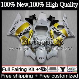 $enCountryForm.capitalKeyWord Australia - Body For HONDA CBR900RR CBR 954 RR CBR900 RR CBR954RR 02 03 41PG12 CBR954 RR CBR 900RR CBR 954RR 2002 2003 Repsol gold Fairing Bodywork