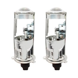 h4 xenon headlight bulbs UK - H4 Projector 12V 55W Bi-Xenon Bulbs HID Bulb Light Lamp Hi Lo Beam Headlight for H4 Mini Projector Lens Bi-Xenon Bulbs Lossless