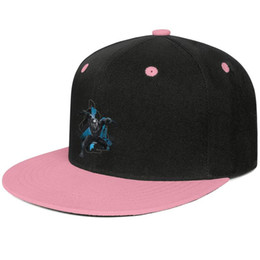 Team Painting Australia - Marvel Black Panther Movie logo painting Pink mens and women hip-hop flat brim cap cool fitted custom design your own fitted team stylish