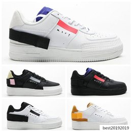 types shoes casual 2020 - Hot New N.354 Mens Forced Type GS Casual Low Top 1 07 Women N354 Black White air Sport Trainers Designer Shoes 35 cheap