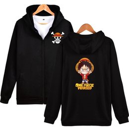 $enCountryForm.capitalKeyWord Australia - New Brand Latest Anime Men's Hoodies One Piece Luffy Cartoon Zipper Sweatshirt Large Size Hooded Tracksuit Brand Clothing