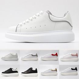 59ea0c12 Calzado de marca Queen blanco MC Athletic colorido para hombre de lujo  diseñador para mujer zapatillas de deporte de cuero de corte bajo plano  zapatos ...