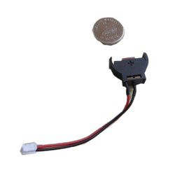 China ciss chip Battery cable + button battery for printer CISS Continuous Ink Supply System Permanent chip cheap chip cable suppliers