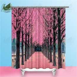 3d Shower Curtains Australia - Vixm 3D Flowers Shower Curtain with Metal Hooks Water and Mildew Resistant for Bathroom Decor 180 x 180cm