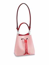 Chinese  Womens famous brands designer Fashion handbags crossbody purse TWIST NEONOE shoulder bags Noé leather bucket bag cheap Drawstring Satchel manufacturers