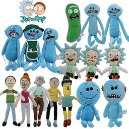 $enCountryForm.capitalKeyWord Australia - New Rick and Morty Adult Pickle Swim Cartoon Morty Summer Jerry Smith Grandpa Rick Mr.Meeseeks Stuffed Plush Doll Toys Kids Gift Present