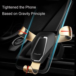 Wholesale 360 Rotate Adjustable Phone Holder Car Air Vent Anti Gravity Mount Cradle Stand