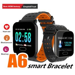 $enCountryForm.capitalKeyWord Australia - 2019 A6 Fashion Bluetooth IP67 Waterproof Smart Wrist Watch For Android Phones With Support SIM Card Slot Camera Music with Package