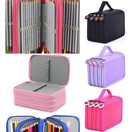$enCountryForm.capitalKeyWord Australia - School Pencil Case Kawaii 72 Holes Pencilcase Large Capacity Pen Bag Box Kids Multifunction Stationery Pouch