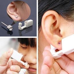 $enCountryForm.capitalKeyWord Australia - New Portable Disposable Safe Sterile Ear Nose Piercing Tool Body Piercing Tool Fashion New Square Ear Piercing Tool