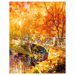 """$enCountryForm.capitalKeyWord NZ - 30""""x40"""" Red leaf tree hand drawn canvas oil painting autumn forest sofa background wall painting staircase porch decorative painting"""
