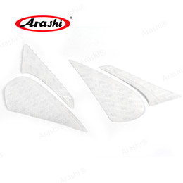 For Kawasaki Z1000 Z 1000 2010-2013 2012 Motorcycle Anti Slip Gas Oil Tank Pad Protector Knee Grip Traction Side Decal Sticker Motorcycle Accessories & Parts Motorbike Accessories