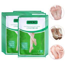 Efero 6 Pack Peeling Fuß Maske Für Beine Pediküre Socken Füße Peeling Maske Tote Haut Bleaching Maske Fuß Pflege Zu Verkaufen Schönheit & Gesundheit