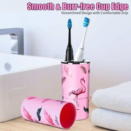 toilet accessories set UK - Bathroom Trash Can Toothbrush Holder Soap Dispenser Gargle Cup Trash Can Toilet Brush With Holder Bathroom Accessories Set