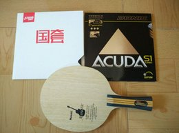 h blade Australia - Wholesale-NITTAKU Acoustic Guitar Table tennis blade pingpong bat Yasaka (MV, 30, HS) Donic(F1, M1, S1) DHS table tennis rubber for racket