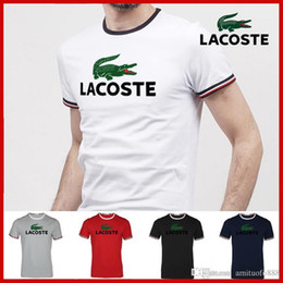 Sport T Shirts Designs New Australia - Top luxurious mens T-shirt suit brands design noble men's short-sleeved pants street sports T-shirt spring and summer new loose casual