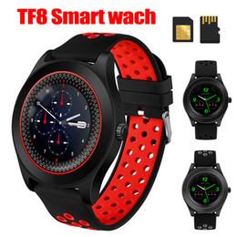 $enCountryForm.capitalKeyWord Australia - TF8 Smart Watch Bluetooth Smartwatch 1.54 Inch HD Spherical Touch Screen Wrist Smartwatch Support Sim Memory Card