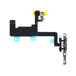 "cable install UK - for iPhone 6 4.7"" Switch Power Button and Flash Light Flex Cable with Brackets Pre-installed"