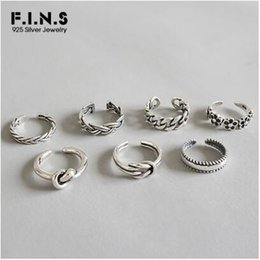 f0d60ed6c 925 Sterling Silver Woman Fashion Rings 2019 Knuckle Ring Multi Styles  Adjustable Rings Toe Rings Beach Foot Jewelry