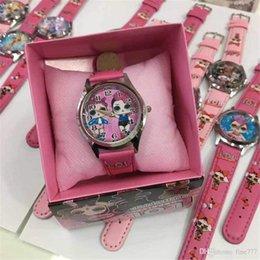 Venta al por mayor de Muñeca LOL caliente reloj en caja reloj electrónico de dibujos animados lindo regalo de niña regalo de cumpleaños para niños día lol