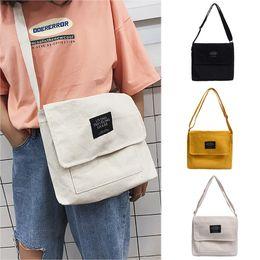 $enCountryForm.capitalKeyWord Australia - Summer Casual Canvas Shopper Handbags Bag Women Canvas Joker Cute Messenger Bag Shoulder Small Square torebki damskie #C