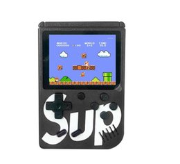 kids arcade games 2019 - New SUP Games Console 400 in 1 Portable Handheld Game Pad Retro 8 bit 3 Inches Color LCD Display Best Gifts for Kids dis