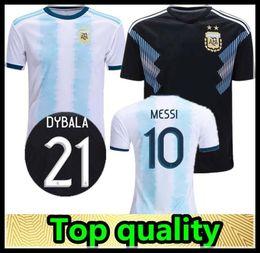 $enCountryForm.capitalKeyWord NZ - 2019 Gold cup Argentina Soccer Jerseys Messi Dybala Kun Aguero Futbol Camisa Camisetas Maillot HIGUAIN ICARDI Football Shirt