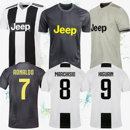 Cheap soCCer jerseys online shopping - 18 Ronaldo Soccer Jerseys DE LIGT Jerseys HIGUAIN DYBALA PJANIC soccer jersey cheap and fine customizable