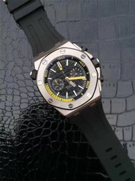 Strap vk online shopping - 45mm pins luxury watch Mens designer Watches colors rubber strap Japan VK Quartz movement Wristwatches orologio di lusso