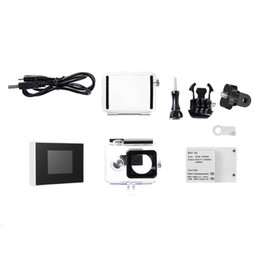 battery for xiaomi yi Australia - 1.5 TFT LCD BacPac External Monitor Non-touch Screen + Battery + Waterproof Housing Case For Xiaomi Yi Action Camera