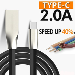 $enCountryForm.capitalKeyWord Australia - 1M 3.3ft Zinc Alloy USB Charger Cable Data Line Charging Shaped Rhombus Type C Cable Cell Phone Cables For iPhone Samsung