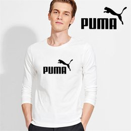Muscle Fit T Shirts Australia - S-3xl pumba 2019 Autumn Men Cotton T Shirts Vintage Long Sleeve Solid Color Muscle Fit T Shirt Men Top Tees O Neck Casual Slim Fit T-shirt