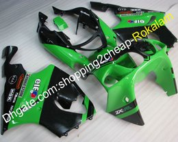 Plastic Motorcycle Fairings Australia - Custom Popular Fairing For kawasaki ZX-7R 1996-2003 ZX7R 96-03 ZX-7R ABS Plastic Green Motorcycle Body Fairings