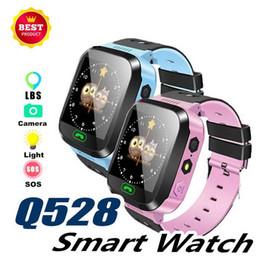 $enCountryForm.capitalKeyWord Australia - Q528 GPS Smart Watch Children Wrist Watch Waterproof Boy Girl Watch With Remote Camera SIM Calls Gift For Kids pk dz09 gt08 a1l