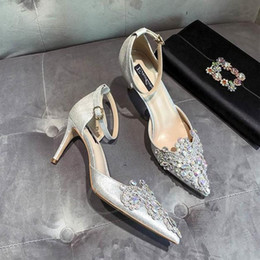 099a5414679 women high heels sandals wedding shoes Patent Leather rivets Sandals Women Studded  Strappy Dress Shoes v high heel Shoes