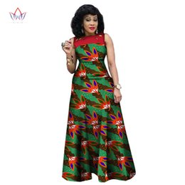 0c092938331 New Style Summer African Dresses For Women 2017 African Print Clothing  Sleeveless Sexy Maxi Dress Plus Size Brw Wy1341 J190511